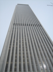 I even got to stop by the office that I'll be working at over the summer. It's near the top of this monster. Cool!